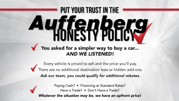 Expect upfront pricing with the Auffenberg Honesty Policy in O'Fallon, IL
