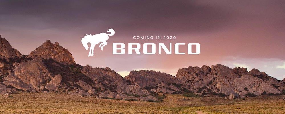 2020 Ford Bronco Logo