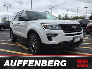 New 2019 Ford Explorer Sport SUV in O'Fallon, IL