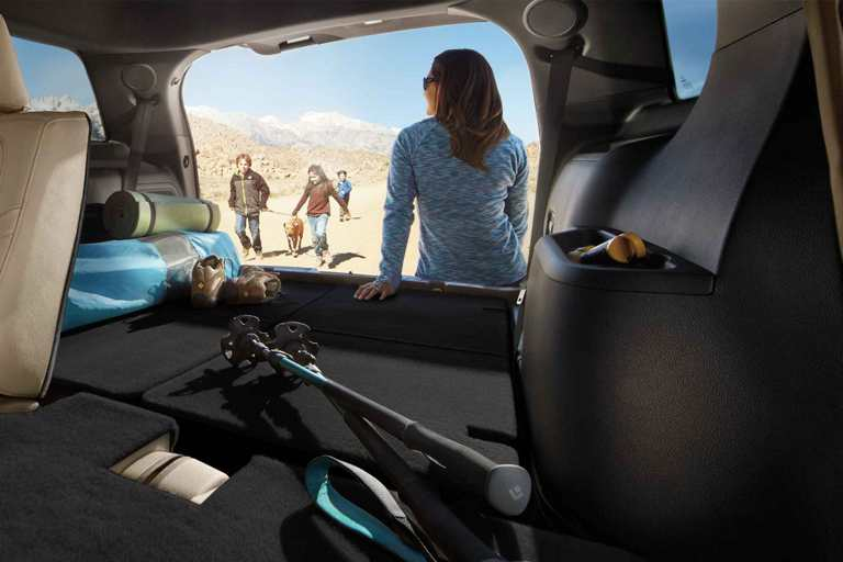2018 Ford Explorer Cargo Space