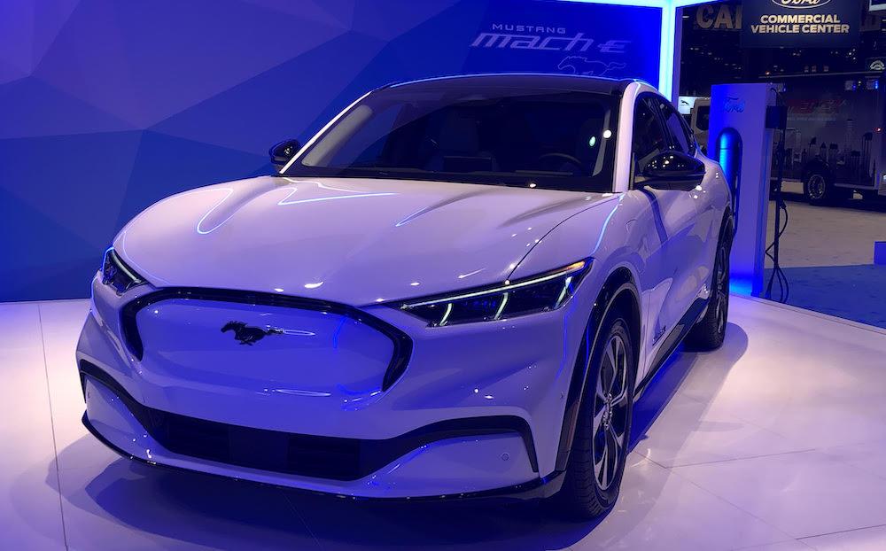 Mustang Mach E Charging