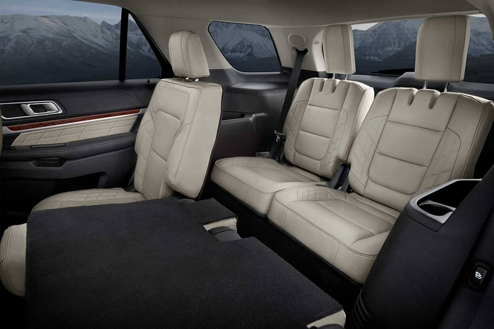 2018 Ford Explorer Space