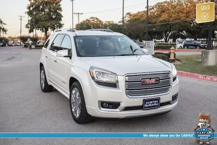 Featured used 2014 GMC Acadia Denali SUV for sale in Austin, TX