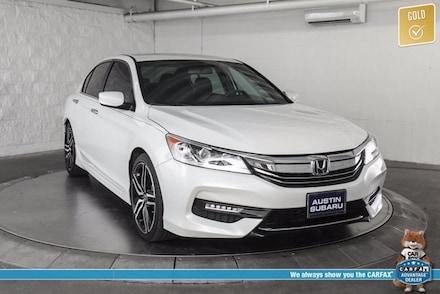 Featured used 2017 Honda Accord Sport Sedan for sale in Austin, TX