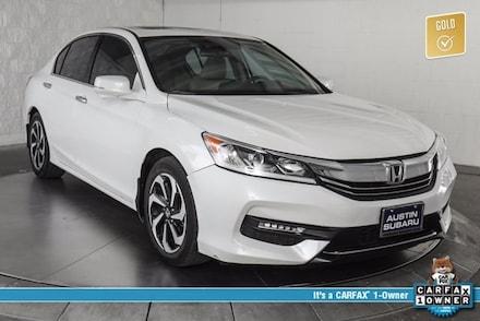 Featured used 2017 Honda Accord EX-L Sedan for sale in Austin, TX