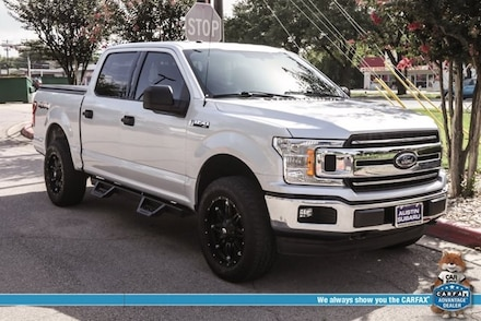 Featured used 2018 Ford F-150 XLT Truck for sale in Austin, TX
