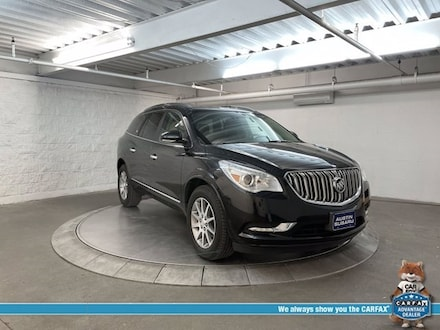 Featured used 2015 Buick Enclave Leather Group SUV for sale in Austin, TX