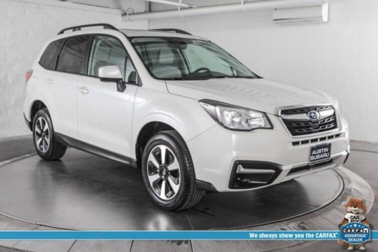 Certified Pre-Owned 2018 Subaru Forester 2.5i Premium SUV Austin