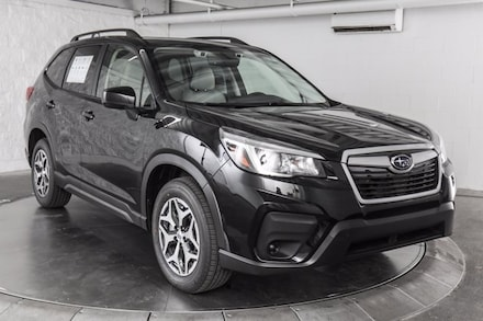 Featured new  2021 Subaru Forester Premium SUV for sale in Austin, TX