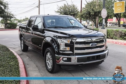 Featured used 2016 Ford F-150 Lariat Truck for sale in Austin, TX