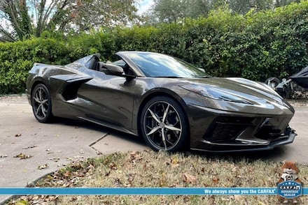 Featured used 2020 Chevrolet Corvette Stingray Convertible for sale in Austin, TX