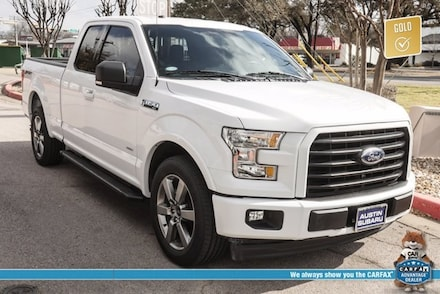 Featured used 2017 Ford F-150 XLT Truck for sale in Austin, TX