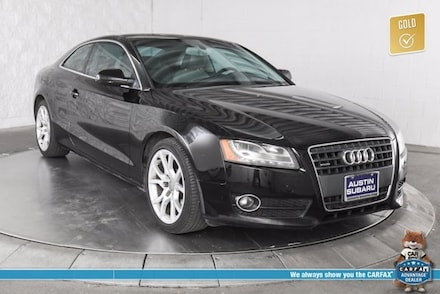 Featured used 2012 Audi A5 2.0T Premium Plus Coupe for sale in Austin, TX