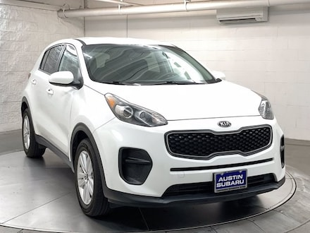 Featured used 2018 Kia Sportage LX SUV for sale in Austin, TX