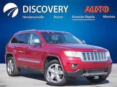 Used 2012 Jeep Grand Cherokee Overland SUV for sale in Hendersonville, NC