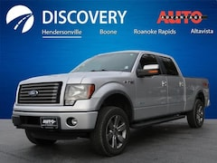 Used 2012 Ford F-150 FX4 Truck for sale near Asheville