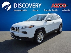 Used 2017 Jeep Cherokee Limited SUV for sale in Hendersonville, NC