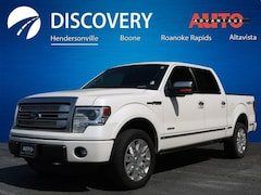 Used 2013 Ford F-150 Platinum Truck for sale near Asheville