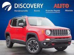 Used 2017 Jeep Renegade Trailhawk SUV for sale in Hendersonville, NC