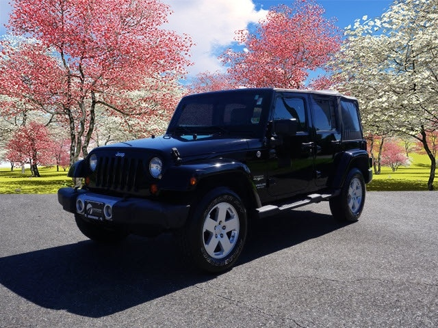 Used 2008 Jeep Wrangler Unlimited Sahara SUV For Sale Near Asheville