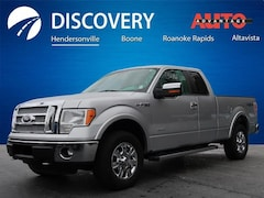 Used 2012 Ford F-150 Lariat Truck for sale near Asheville