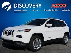 Used 2015 Jeep Cherokee Limited SUV for sale in Hendersonville, NC