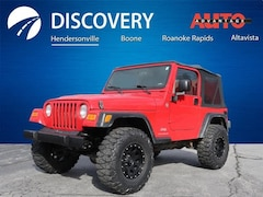 Used 2006 Jeep Wrangler SE SUV for sale near Asheville