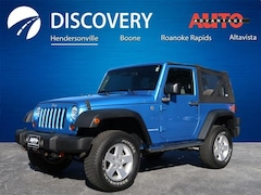Used 2010 Jeep Wrangler Sport SUV for sale near Asheville