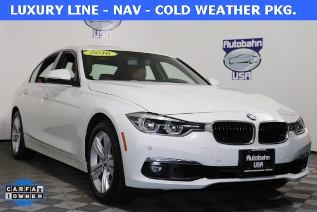 2016 BMW 3 Series 328i Xdrive Sedan Westborough, MA