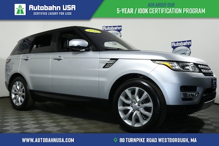 2017 Land Rover Range Rover Sport 3.0L V6 Supercharged HSE SUV