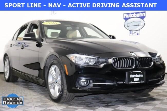 2016 BMW 3 Series 328i Xdrive Sedan Westborough, MA