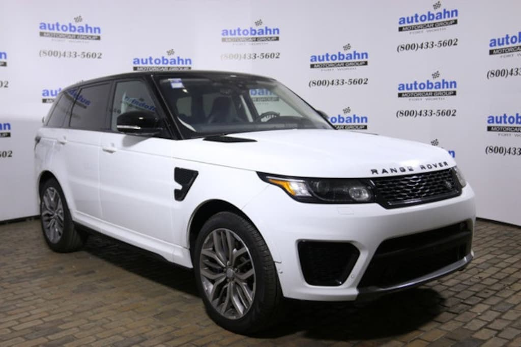 Land Rover Fort Worth >> Used 2017 Land Rover Range Rover Sport For Sale Fort Worth Txsalwz2fe5ha152661l17438