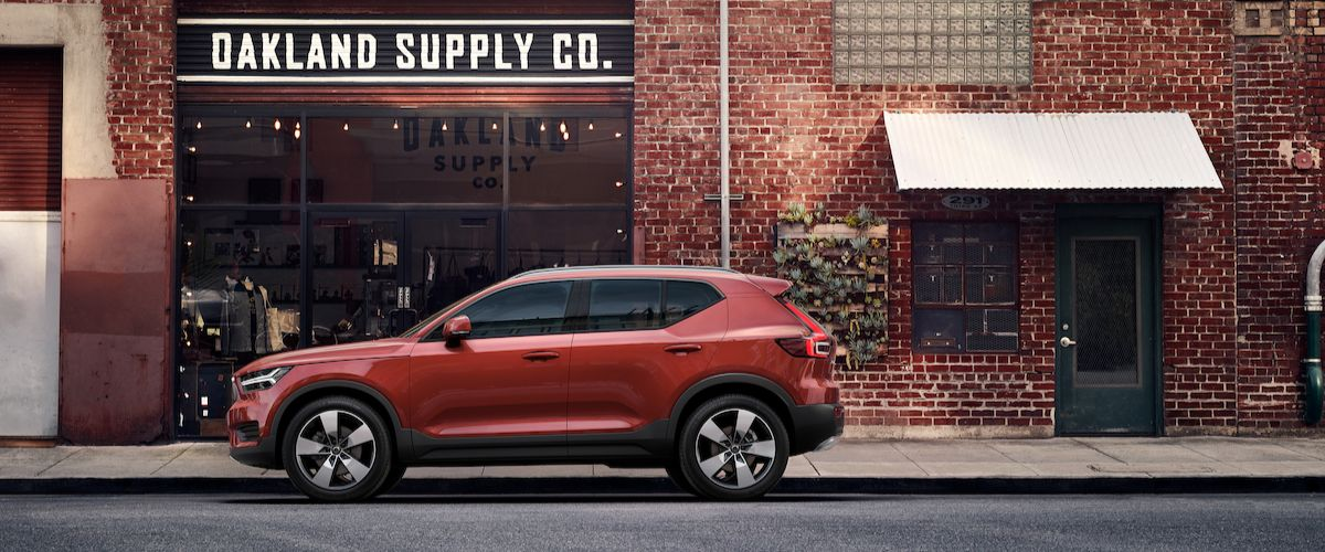 New Volvo XC40 in DFW