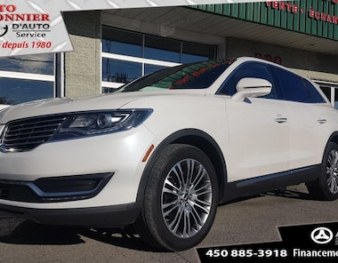 2016 Lincoln MKX Reserve AWD, HITCH, TOIT, GPS SUV