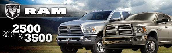 2012 Ram 2500 and 3500 at Northland Chrysler Jeep Dodge