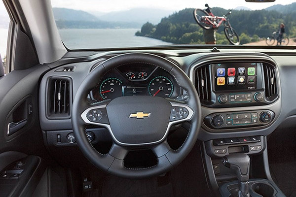 2016 Chevrolet Colorado technology