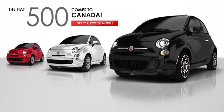 The FIAT 500 comes to Canada!