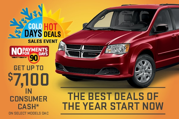 Cold Days Hot Deals Sales Event