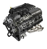 2012 Jeep Grand Cherokeee SRT8 engine