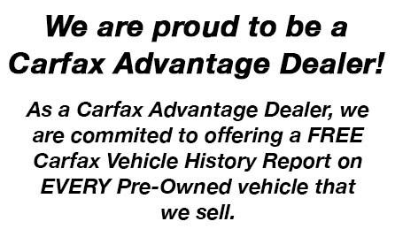 Carfax Advantage Grande Prairie Subaru