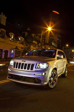 2012 Jeep grand Cherokee SRT8 at Grande Prairie Chrysler Jeep Dodge