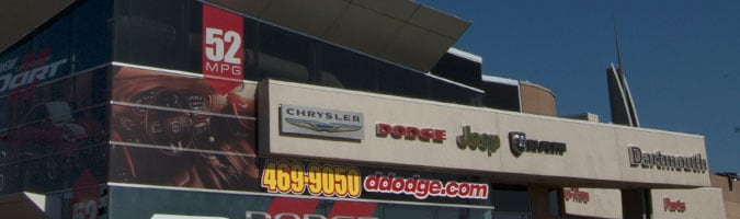 Dartmouth Chrysler Jeep Dodge