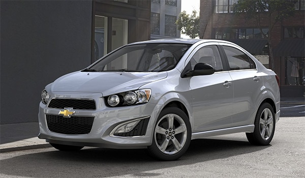 2016 Chevy Sonic in Edmonton