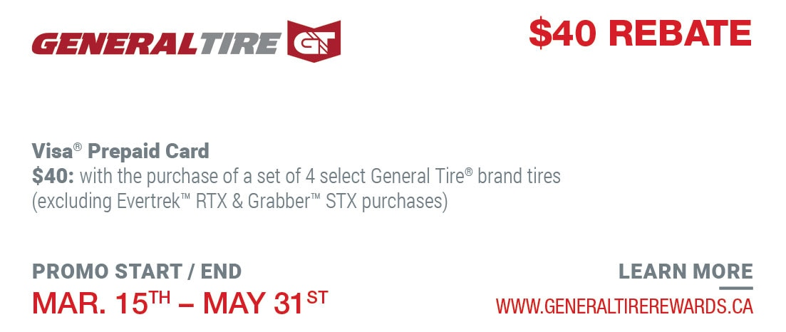 View tire rebates