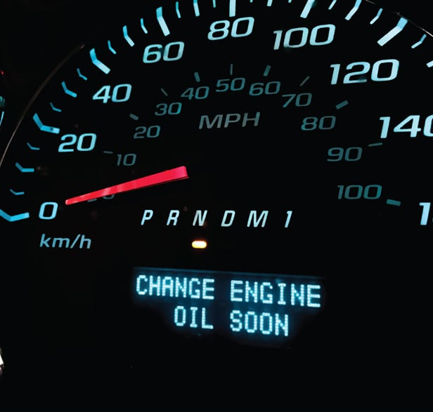 Oil Change Indicator