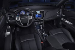 2012 Chrysler 200 Interior