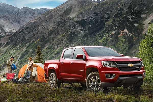 2016 Chevrolet Colorado capability
