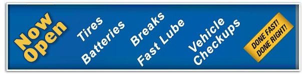 Mopar Express Lane - Now Open | Tires, Batteries, Brakes, Fast  Lube, Vehicle Checkups | Done Fast, Done Right