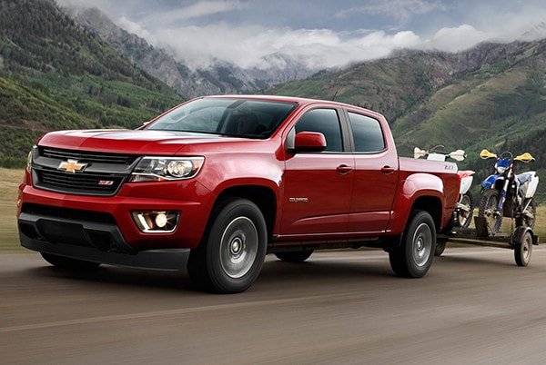 2016 Chevy Colorado Towing