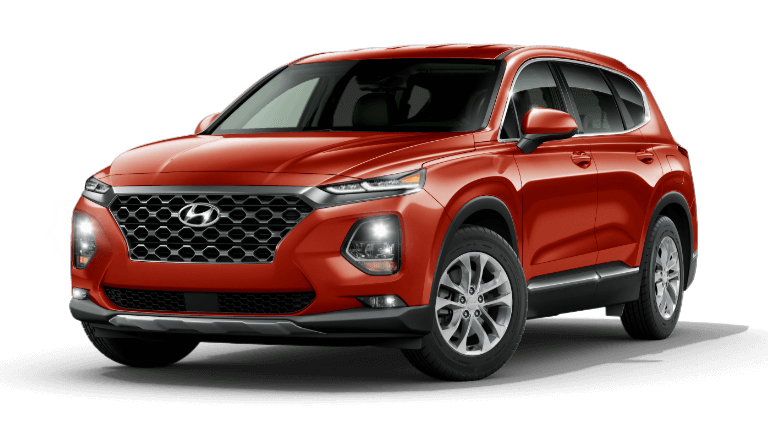 2020 Hyundai Santa Fe SEL - Lava Orange